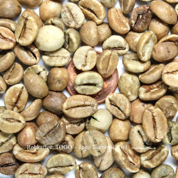 TOGO - Coffea Togoensis Gr.1 - Natural
